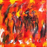 Godi-Tresch-Menschen-Frau-Abstraktes-Moderne-Abstrakte-Kunst