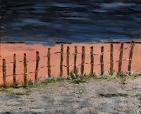 Godi-Tresch-Landschaft-See-Meer-Natur-Erde-Moderne-Abstrakte-Kunst