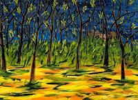 Godi-Tresch-Natur-Wald-Landschaft-Herbst-Moderne-Abstrakte-Kunst