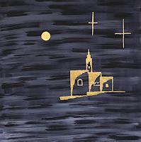 Godi-Tresch-Mythologie-Fantasie-Moderne-Abstrakte-Kunst