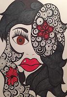 SuzAna-Senn-Benes-1-Menschen-Frau-Dekoratives-Moderne-Moderne