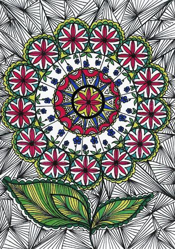 SuzAna Senn-Benes, Blumen-Harmonie, Pflanzen, Natur