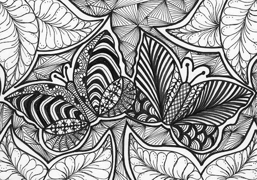 SuzAna Senn-Benes, Schmetterlings-Paar, Tiere: Luft, Natur, Moderne