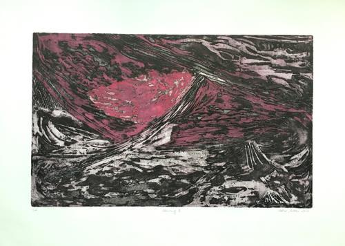 Sabine Müller, Störung II, Abstraktes, Abstrakte Kunst, Abstrakter Expressionismus