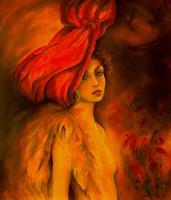 G. Federico, Der rote Hut