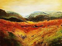 Gerhard-Winkler-Landschaft-Landschaft-Berge-Moderne-Abstrakte-Kunst