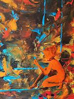 Gerhard-Winkler-Abstraktes-Abstraktes-Moderne-Abstrakte-Kunst