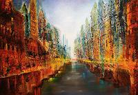 Gerhard Winkler, Stadt am Fluss