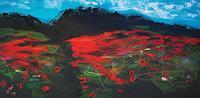 Gerhard-Winkler-Abstraktes-Abstraktes-Moderne-Abstrakte-Kunst-Action-Painting