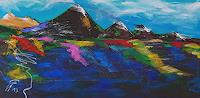 Gerhard-Winkler-Landschaft-Herbst-Abstraktes-Moderne-Abstrakte-Kunst-Action-Painting