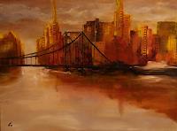 Gerhard-Winkler-Fantasie-Abstraktes-Moderne-Abstrakte-Kunst-Action-Painting
