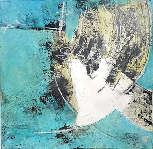 Christiane Mohr, Die Zarte, Diverses, Gegenwartskunst, Expressionismus