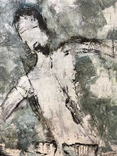 Christiane Mohr, Der Mann, Abstraktes, Gegenwartskunst