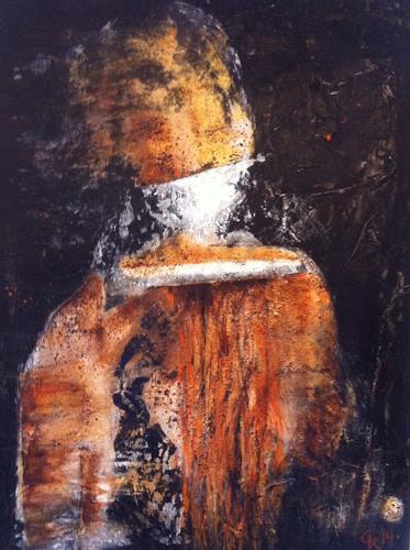 Christiane Mohr, Der Mann mit dem goldenen Helm, Diverses, Abstrakter Expressionismus