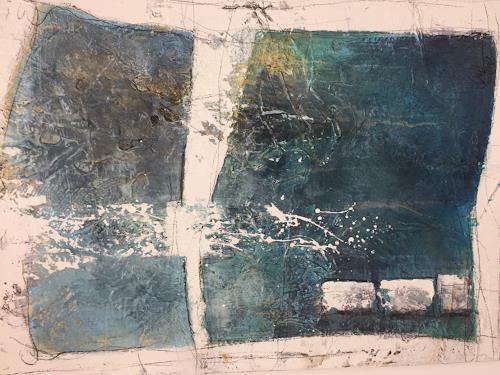 Christiane Mohr, O/T, Abstraktes