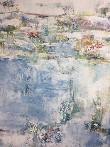 Christiane Mohr, O/T, Landschaft: Ebene, Abstrakte Kunst, Expressionismus