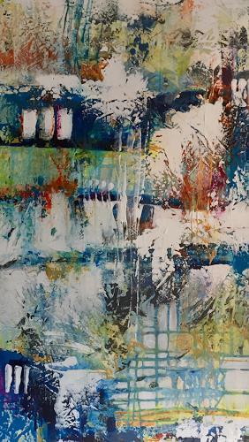 Christiane Mohr, Sommer 1, Abstraktes, Abstrakte Kunst