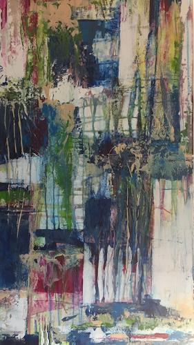 Christiane Mohr, Sommer 2, Abstraktes, Abstrakte Kunst
