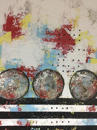 Christiane Mohr, Start und Ziel 2, Abstraktes, Diverses, Abstrakte Kunst