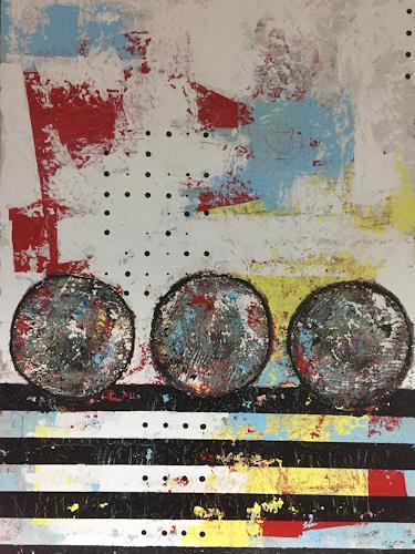 Christiane Mohr, Start und Ziel 1, Abstraktes, Diverses, Abstrakte Kunst
