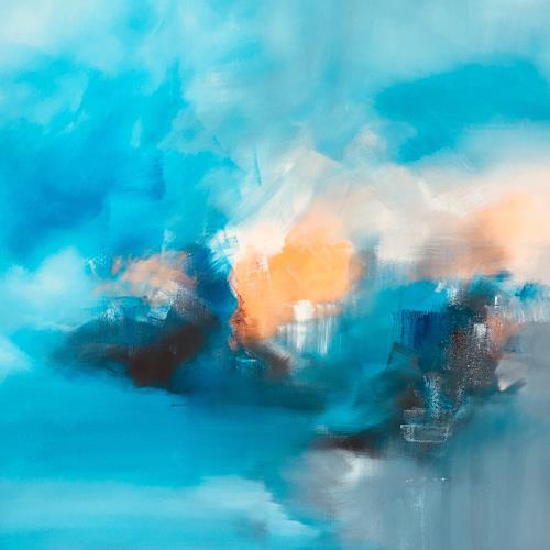 Christiane Mohr, Leichtigkeit, Abstraktes, Abstrakte Kunst, Expressionismus