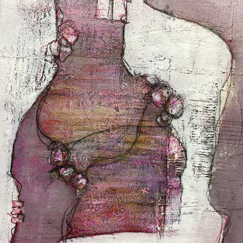 Christiane Mohr, O/T, Abstraktes, Abstrakte Kunst, Expressionismus
