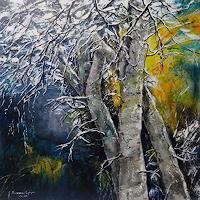 Susanne-Geyer-Pflanzen-Baeume-Landschaft-Winter-Gegenwartskunst-Gegenwartskunst