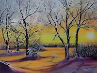 Susanne-Geyer-Landschaft-Winter-Natur-Wald-Gegenwartskunst-Gegenwartskunst