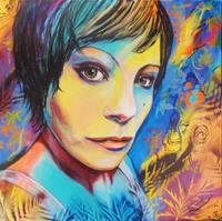 Susanne-Geyer-Menschen-Frau-Menschen-Gesichter-Gegenwartskunst-Gegenwartskunst