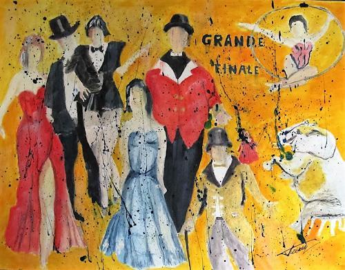 Leon4, Grande Finale, Zirkus, Gegenwartskunst