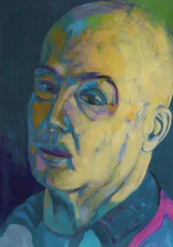 Iris Jurjahn, 6000 im Jahr, Menschen, Abstrakter Expressionismus