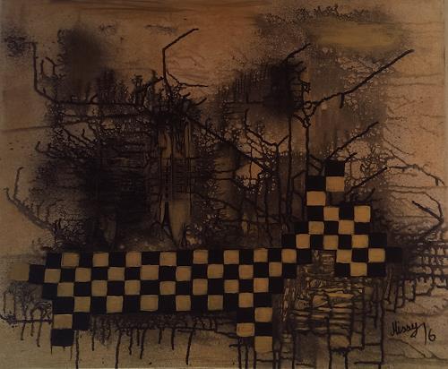 mismon, Chaos, Fantasie, Abstraktes, Informel, Abstrakter Expressionismus