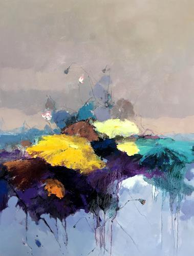 jingshen you, Waterlily 001, Pflanzen: Blumen, Stilleben, Impressionismus, Expressionismus