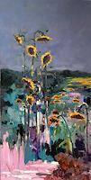 jingshen-you-Pflanzen-Dekoratives-Moderne-Impressionismus