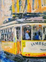 w. van de wege, Lissabon tram