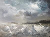 wim-van-de-wege-Landschaft-Strand-Landschaft-See-Meer-Moderne-Impressionismus