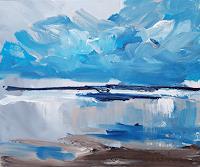 wim-van-de-wege-Landschaft-See-Meer-Landschaft-Sommer-Moderne-Expressionismus
