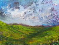 wim-van-de-wege-Landschaft-Berge-Diverse-Landschaften-Moderne-Expressionismus