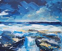 wim-van-de-wege-Landschaft-See-Meer-Diverse-Landschaften-Moderne-Impressionismus-Postimpressionismus
