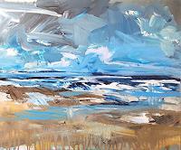 wim-van-de-wege-Landschaft-See-Meer-Natur-Wasser-Moderne-Impressionismus-Postimpressionismus