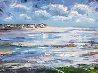 wim-van-de-wege-Landschaft-See-Meer-Landschaft-Strand-Moderne-Impressionismus