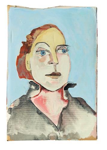 Victor Koch, Blaue Augen, Menschen: Frau, Fashion, Gegenwartskunst, Abstrakter Expressionismus