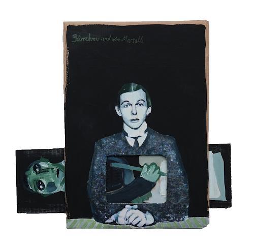 Victor Koch, Kirchner und Marsalla, Menschen: Porträt, Gesellschaft, Gegenwartskunst, Abstrakter Expressionismus