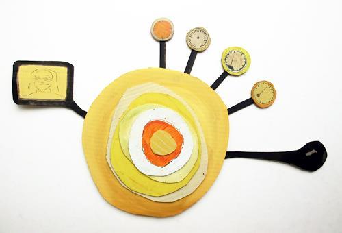 Victor Koch, Sonnengang, Natur: Diverse, Skurril, Gegenwartskunst, Abstrakter Expressionismus