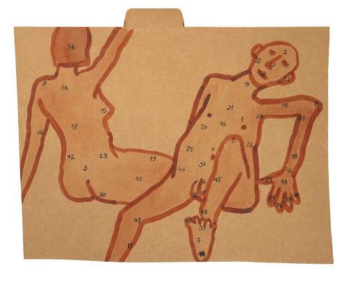 Victor Koch, Krankheit als Chance, Diverse Menschen, Spiel, Gegenwartskunst, Abstrakter Expressionismus