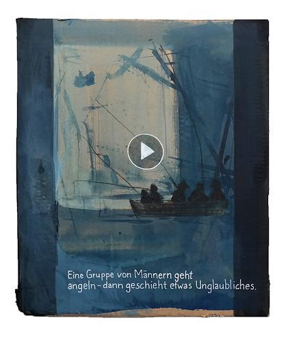 Victor Koch, Das musst du gesehen haben!, Natur: Wasser, Gesellschaft, Gegenwartskunst, Abstrakter Expressionismus