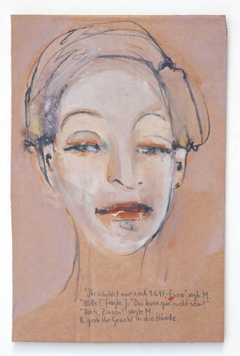 Victor Koch, Mit Zinsen, Menschen: Porträt, Diverse Gefühle, Gegenwartskunst
