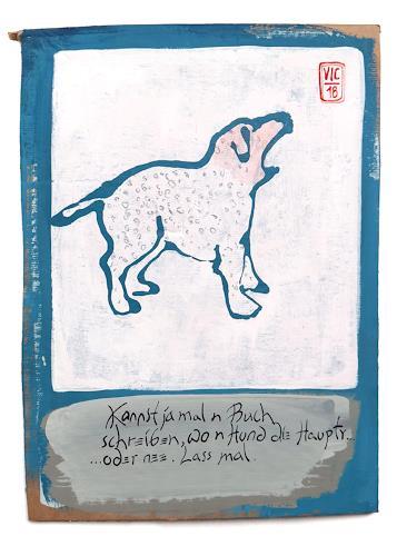 Victor Koch, Bestsellervorschlag, verworfen - ein Haiku, Tiere: Land, Poesie, Gegenwartskunst