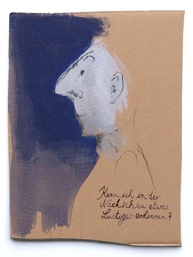 Victor Koch, Nachschau, Menschen: Mann, Poesie, Gegenwartskunst, Abstrakter Expressionismus