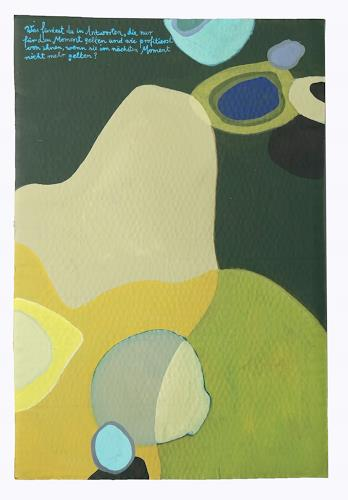 Victor Koch, So oder so, Abstraktes, Poesie, Gegenwartskunst